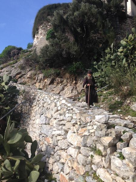 монах Афанасий. Святая гора Афон